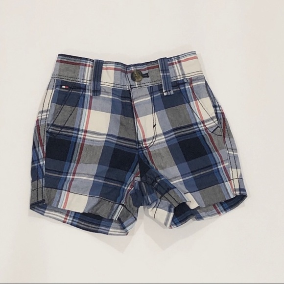 Tommy Hilfiger Other - 🌺Tommy Hilfiger Plaid Baby Boy Shorts 3-6 Months